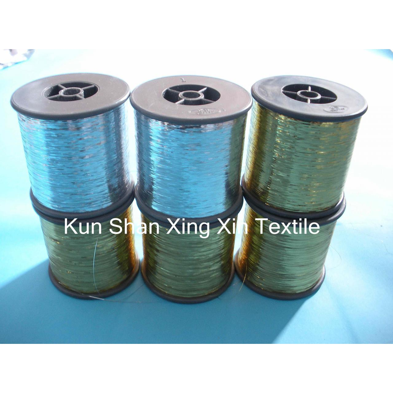 Wholesale METALLIC YARN Acid alkaline-resistant dyeable metallic yarn from china suppliers
