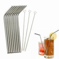 food grade 304 stainless steel straws