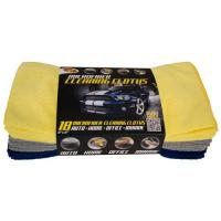 SQUEEGEES AND DUSTERS 3-54118 Pk. Microfiber Cleaning Cloths