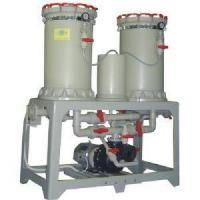 Backwash filter Multifunction switch double-barrel filter (round base)