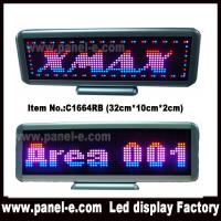 Wholesale Product: USB rechargeable tri color led desktop sign from china suppliers