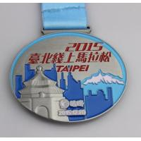 Wholesale Hot Sales Antique Silver Plating Marathon 3D Zinc Alloy Medal from china suppliers
