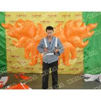 Wholesale Event Decoration Orange Wing Inflatable Costume from china suppliers