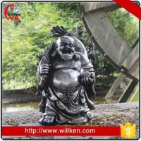 Wholesale Animal Statues Garden outdoor decorative fiber standing happy buddha statue from china suppliers