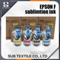 Buy cheap Epson Dye Sublimation Ink with Chip For Surecolor F6070 Printer from wholesalers