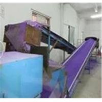 Leaching production line - leaching conveyor belt.