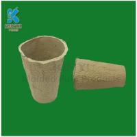 Wholesale Tall Biodegradable Fiber Molded Flower Pots from china suppliers