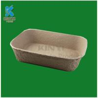 Wholesale Biodegradable molded pulp flower pots trays from china suppliers
