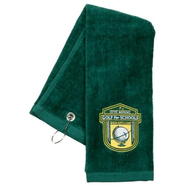 Best Sellers Tri-Fold Golf Towels Embroidered With Your