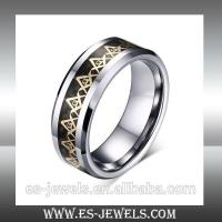 Wholesale Factory Wholesale High Quality 8mm Tungsten Ring Jewelry ESTR01 from china suppliers