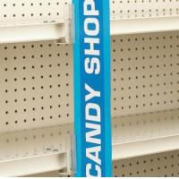 2243 - SuperGrip Under-Shelf Mount Sign Holder