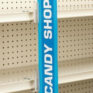 Quality 2243 - SuperGrip Under-Shelf Mount Sign Holder for sale