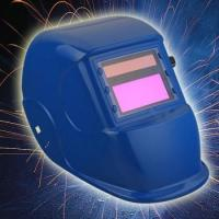 Wholesale Blue Auto Darkening Filter LCD Solar Welding Helmet from china suppliers