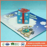 Wholesale Best Easy Pop Out Up Greeting Cards For Kids from china suppliers