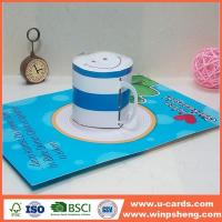 Buy cheap Handmade 3d Xmas Paper Cards from wholesalers