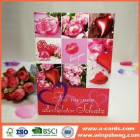 Wholesale Easy Designs Handmade Love Greeting Card With Photo from china suppliers