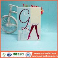 Wholesale Easy And Beautiful Handmade Birthday Cards from china suppliers