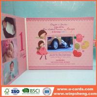 Wholesale Good Blessing Custom Handcrafted Baby Christmas Greeting Cards from china suppliers