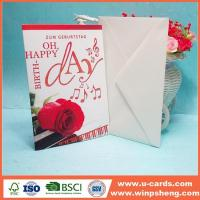 China Customized Newly Beautiful Handmade Photo Mothers Day Cards on sale