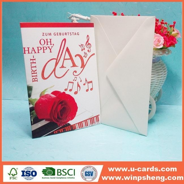 Quality Customized Newly Beautiful Handmade Photo Mothers Day Cards for sale