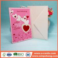 Wholesale Hot High Quality Best Wishes Sweet Simple Handmade Birthday Cards For Wife from china suppliers
