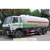 Wholesale 22000 liters Dongfeng LPG tanker truck from china suppliers