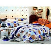 China Printed Bed Sheet Sets 100% Cotton Pigment Printed Bed Sheet Set /quilt Cover Set wholesale
