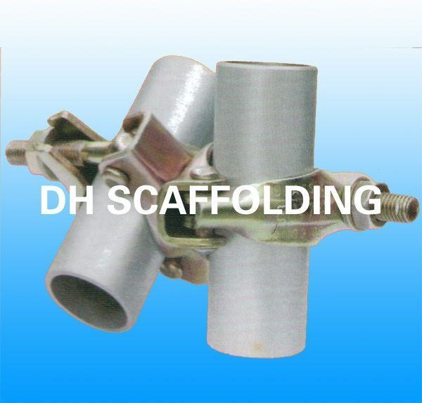 Pressed Steel Coupler : Pressed swivel coupler of dh scaffolding