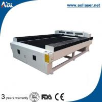 Wholesale Wood/MDF/Acrylic/Paper/Leather/Fabric/Rubber/Brick/PVC CO2 Laser Cutting Machine from china suppliers