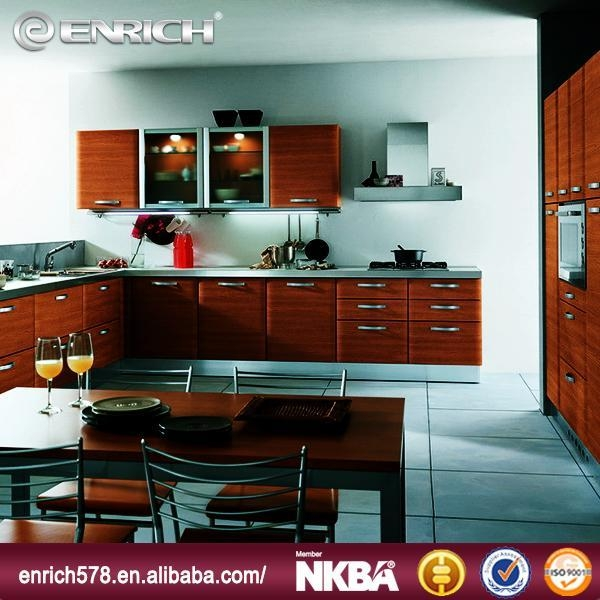 Popular ready made melamine kitchen cabinet of enrichcn for Ready made kitchen cabinets for sale
