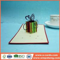 Wholesale Handmade Card Template Thank You Pop Up Card 3d from china suppliers