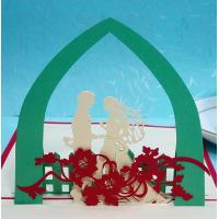 Wholesale Handmade Card 3d Pop Up Valentine Cards Template from china suppliers