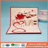 Wholesale Handmade Card Handmade Christmas 3d Pop Up Cards from china suppliers