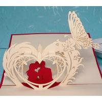 Wholesale Handmade Card Patterns 3d Pop Up Flower Cards For Kids from china suppliers