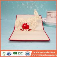 Wholesale Handmade Card 3d Heart Photo Pop Up Card Making Ideas from china suppliers