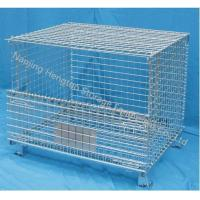 Wholesale Wire Mesh Container with Top Cover from china suppliers