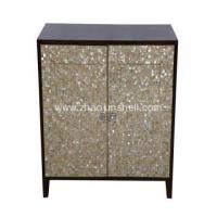 Wholesale CANOSA golden mother of pearl inlaid wooden furniturn Storage Cabinet from china suppliers