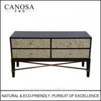 Wholesale ECO-Friendly yellow mother of pearl inlaid Storage Cabinet from china suppliers