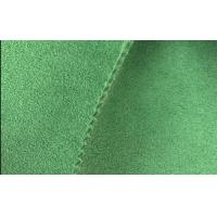 Wholesale 100 Colors Dyed Microfiber Leather Fabric,Eco Friendly Suede Leather for Shoes Vamp from china suppliers
