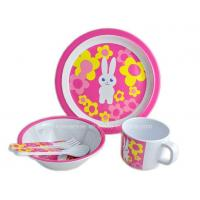 5PCS Kids Melamine Meal Set