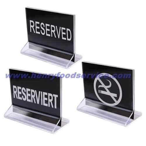 RESERVED Place Card holder for Table Number Photos by ...  |Reserved Table Sign Holder