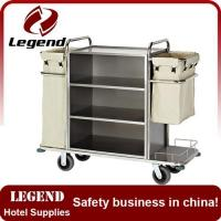Housekeeping carts quality housekeeping carts for sale for Hotel room service cart