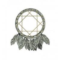 Wholesale Native American Indian DreamCatcher Embroidery Design from china suppliers