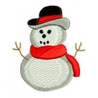 Wholesale Christmas Winter Snowman Snow Embroidery Design from china suppliers