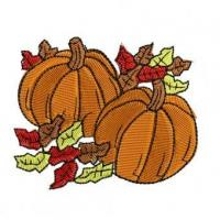 Wholesale Fall Pumpkins Embroidery Design from china suppliers