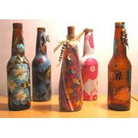 Wholesale Decorated Beer Glass Bottle from china suppliers