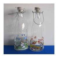 Wholesale Decorated Food Glass Bottle from china suppliers