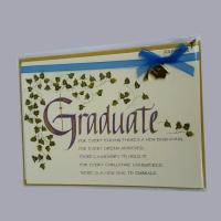 Buy cheap customized graduction cards for shool from wholesalers