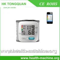 Bluetooth blood pressure monitor bluetooth wrist blood pressure monitor