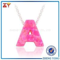 China Necklace jewelry 2017, Fashion jewelry 2017, Christmas jewellery opal necklace wholesale
